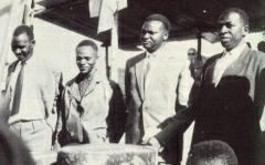 Congrès Gitarama 28jan1961-Kayibanda-Kayuku-Mbonyumutwa-Bicamumpaka